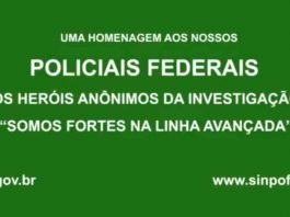 HOMENAGEM DIA DO POLICIAL FEDERAL